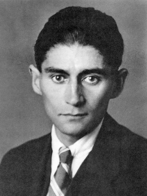 Franz Kafka, 1923, foto fra Wikipidia
