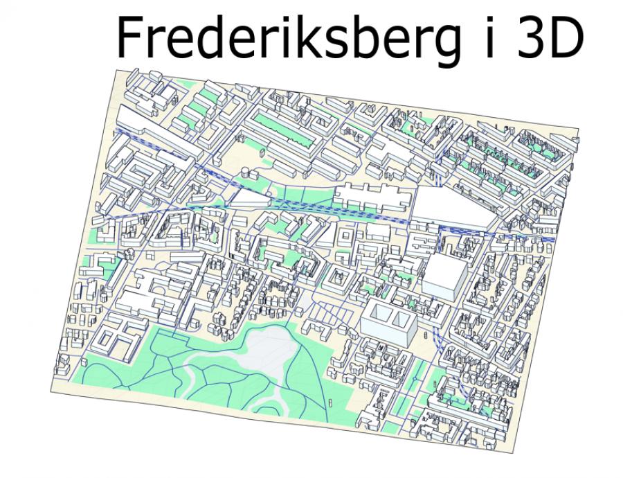 Frederiksberg i 3D