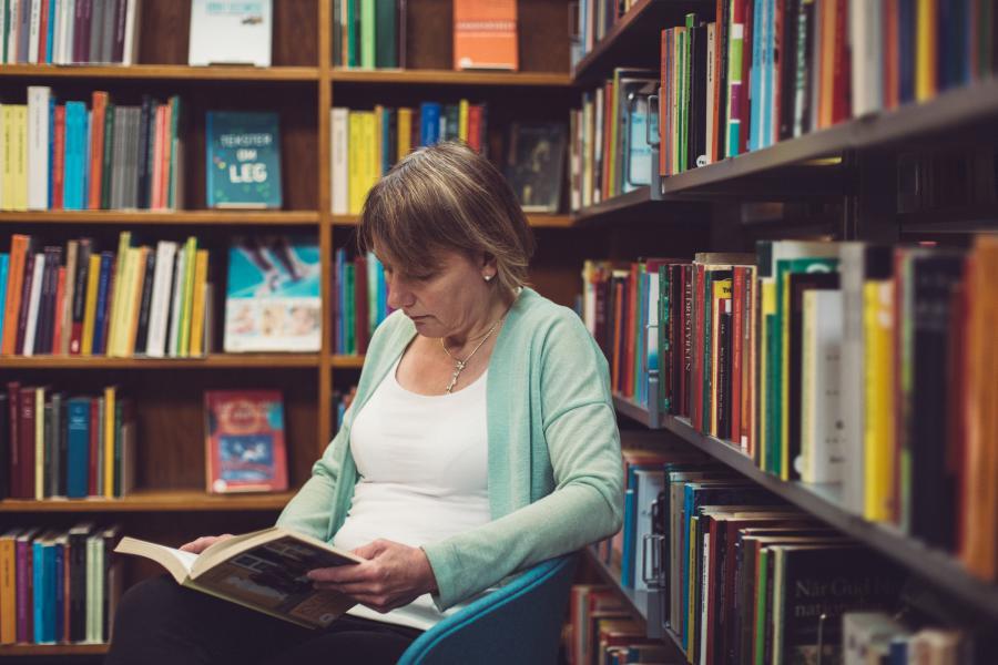 Biblioteket Frederiksberg vinder prisen for årets bogsamling 2018