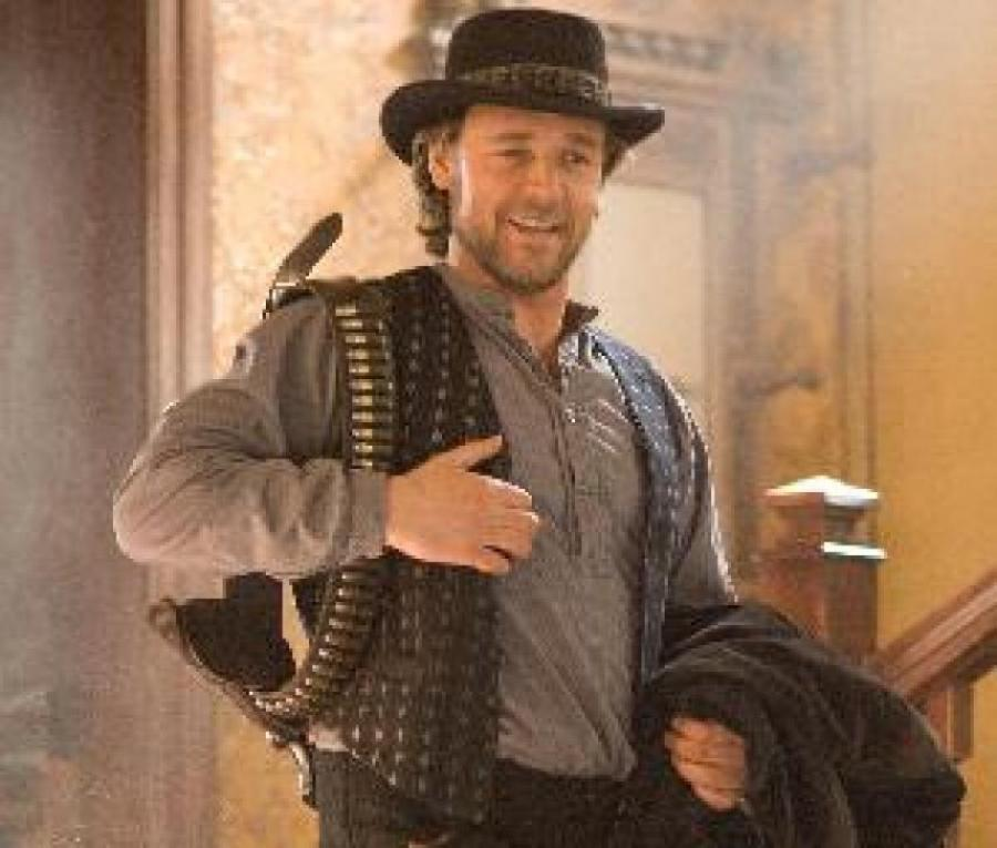 Russell Crowe som Ben Wade i 3:10 to Yuma.