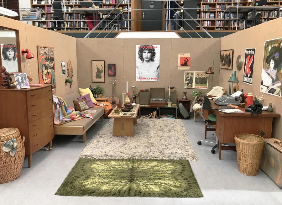 Træd Ind I 1968 Biblioteket Frederiksberg Fkbdk