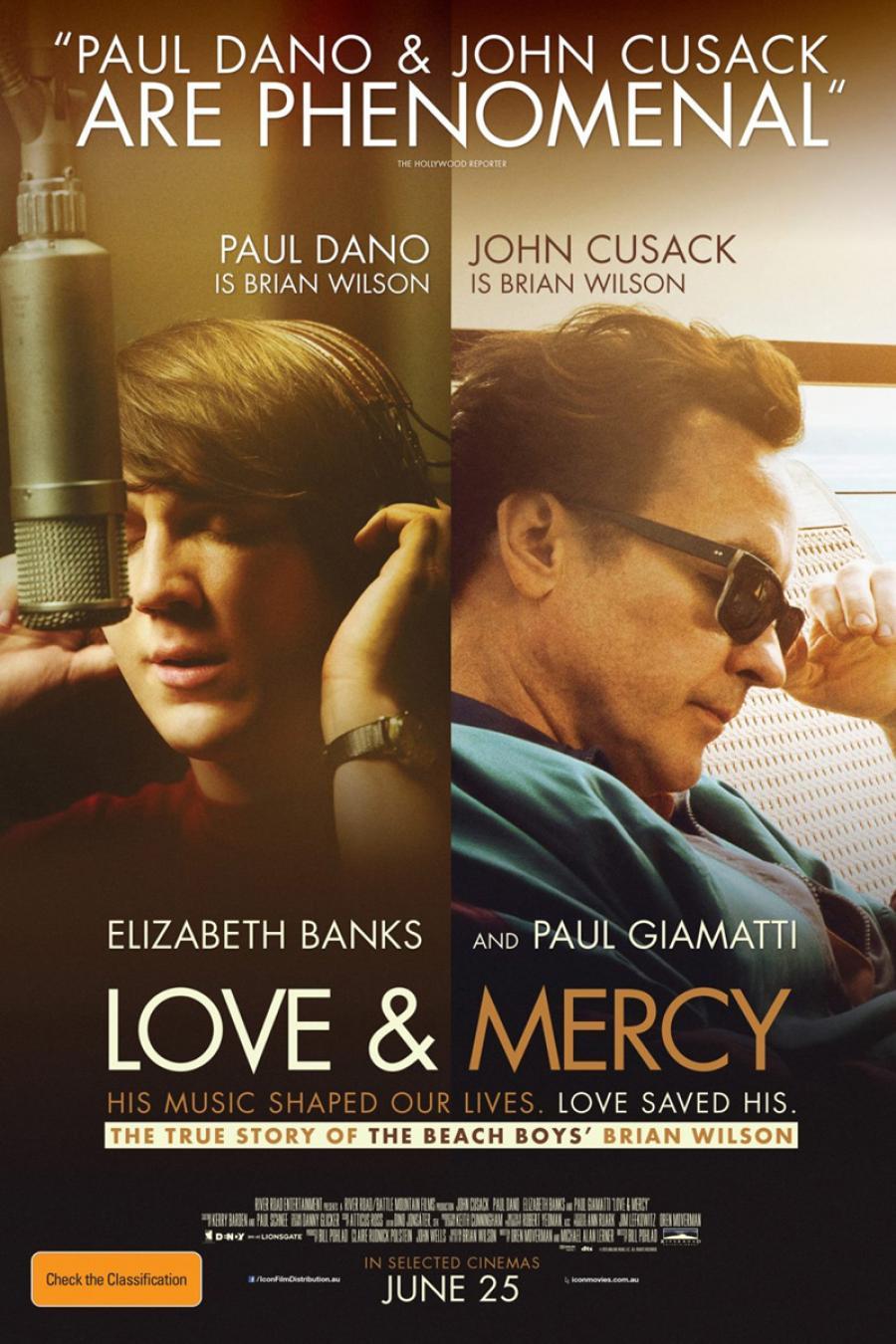 "Bibliotekar Helle Kundby anbefaler varmt filmen ""Love & Mercy"" om bandet The Beach Boys."