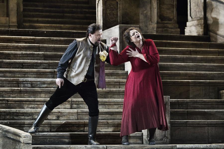Operaen Cavalleria rusticana på Det Kongelige Teater. Foto: Miklos Szabo